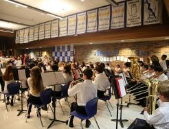 Schmucker Band performs for P-H-M School Board (11/28/16)