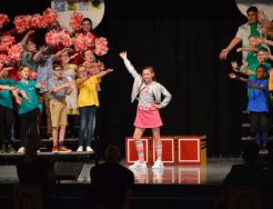 "Students perform ""Junie B. Jones Jr, The Musical"""