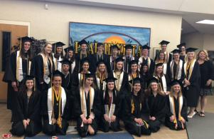 Graduating 2019 former Prairie Vista Students
